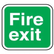 Safe Safety Sign - Fire Exit 012